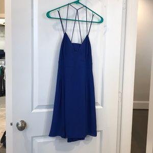 Express Strappy Back Mini Dress